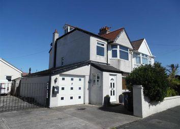 Thumbnail 5 bed semi-detached house for sale in Berwyn Crescent, Kinmel Bay Rhyl, Conwy