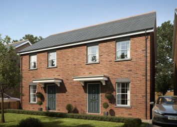 Thumbnail 3 bed semi-detached house for sale in Plot 6, Mansion Gardens, Penllergaer, Swansea