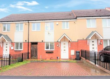 Thumbnail 3 bed town house for sale in Bradfield Way, Dudley
