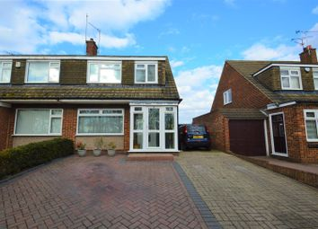 Thumbnail 3 bed semi-detached house for sale in Roman Road, Northfleet, Gravesend