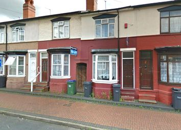 Thumbnail 3 bedroom terraced house to rent in Capethorn Road, Smethwick