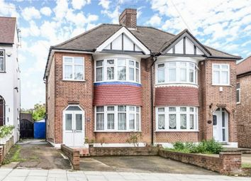 Thumbnail 3 bed semi-detached house for sale in Brunswick Park Road, London