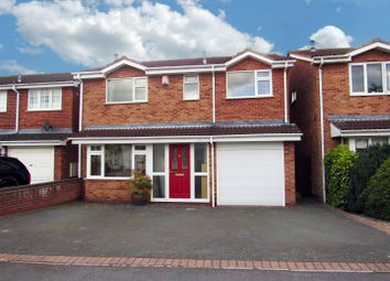 Thumbnail 4 bed detached house for sale in Herrick Close, Enderby, Leicester