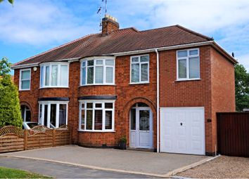 Thumbnail 4 bed semi-detached house for sale in Acres Road, Leicester Forest East