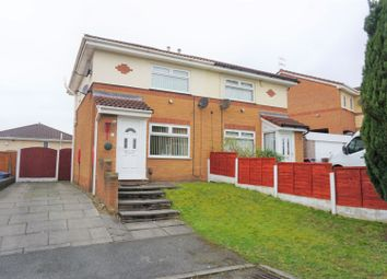 Thumbnail 2 bed semi-detached house for sale in Blisworth Avenue, Manchester