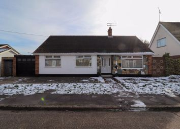 Thumbnail 3 bed detached bungalow for sale in Heideburg Road, Canvey Island