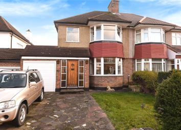 Thumbnail 3 bed semi-detached house for sale in Beechcroft Avenue, Harrow, Middlesex