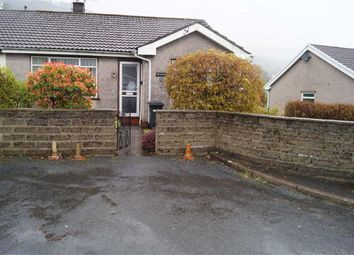 Thumbnail 3 bed semi-detached bungalow for sale in Meadow Close, Mountain Ash