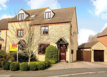 Thumbnail 3 bed end terrace house for sale in Snowshill Drive, Deer Park, Witney