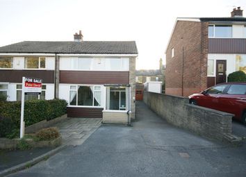 Thumbnail 3 bed semi-detached house for sale in Astral Close, Hipperholme, Halifax