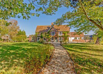 Thumbnail 5 bed farmhouse for sale in Crendon Road, Shabbington, Aylesbury