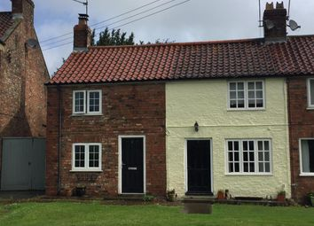 Thumbnail 2 bed terraced house for sale in Main Street, Stillington, York