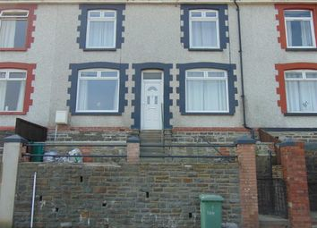 Thumbnail 3 bed terraced house to rent in Tanycoed Street, Penrhiwceiber, Mountain Ash