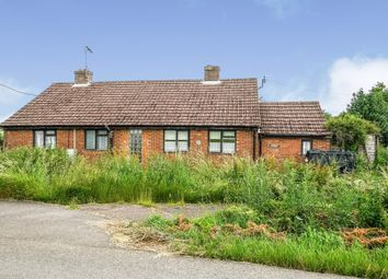 Thumbnail 2 bed detached bungalow for sale in White City Road, Barroway Drove, Downham Market