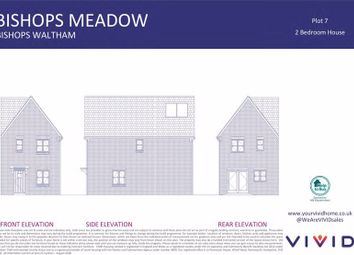 Thumbnail 2 bed semi-detached house for sale in Winchester Road, Bishops Waltham, Southampton