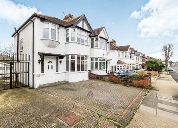 Thumbnail 3 bed semi-detached house for sale in Carlton Road, Gidea Park, Romford