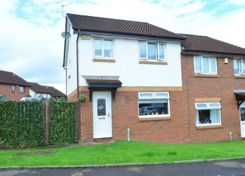 Thumbnail 3 bed semi-detached house for sale in Rhindmuir Crescent, Swinton, Glasgow