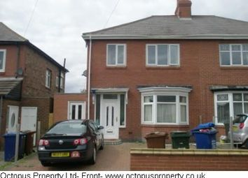 Thumbnail 4 bed semi-detached house to rent in Dunholm Road, Newcastle Upon Tyne