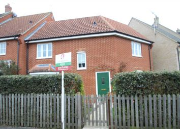 Thumbnail 3 bedroom semi-detached house to rent in Turing Court, Kesgrave, Ipswich