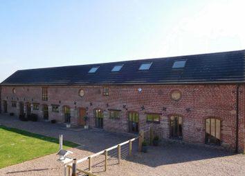 Thumbnail 5 bed barn conversion for sale in Colehurst, Market Drayton