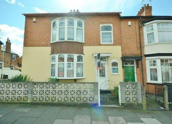 Thumbnail 3 bed semi-detached house for sale in Lorne Road, Leicester