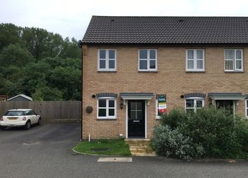 Thumbnail 2 bed end terrace house to rent in Pipistrelle Way, Oadby