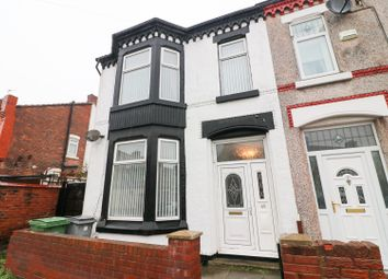 Thumbnail 3 bed end terrace house for sale in Albemarle Road, Wallasey