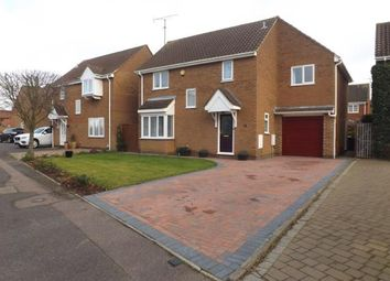 Thumbnail 4 bed detached house for sale in Lincoln Crescent, Biggleswade, Bedfordshire