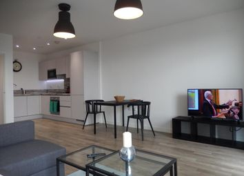 Thumbnail 1 bed flat to rent in Marathon House, Wembley Park Gate, Wembley, London