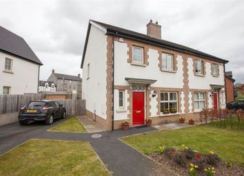 Thumbnail 3 bedroom semi-detached house for sale in 110, Coopers Mill Court, Dundonald