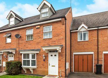 Thumbnail Terraced house for sale in Bushy Court, Hampton Hargate, Peterborough