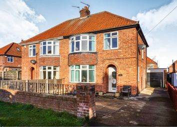 Thumbnail 3 bedroom semi-detached house for sale in Broome Close, York