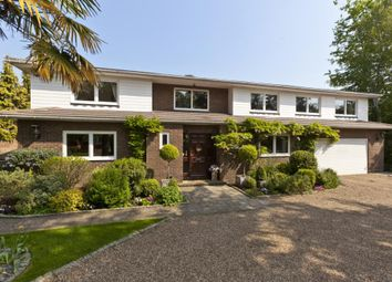 Thumbnail 5 bed detached house to rent in Sandown Road, Esher