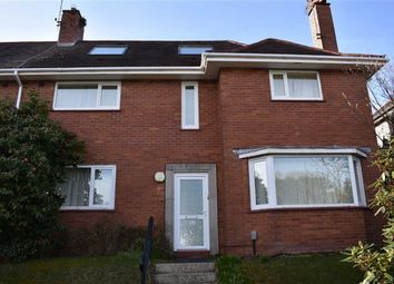 Thumbnail 5 bed semi-detached house for sale in Derwen Fawr Road, Swansea