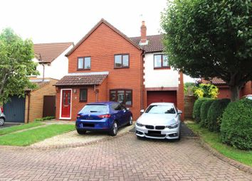 Thumbnail 4 bed detached house for sale in Oaktree Crescent, Bradley Stoke, Bristol