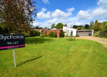 Thumbnail 3 bed detached bungalow to rent in Lodge Close, Great Barton, Bury St Edmunds, Suffolk