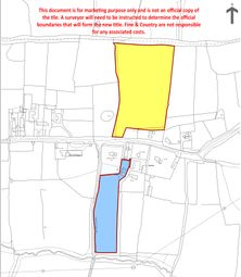 Thumbnail Land for sale in Beaumont Road, Broxbourne, Hertfordshire
