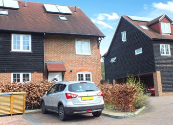 Thumbnail 3 bed end terrace house for sale in Swedish Houses, Colonels Lane, Boughton-Under-Blean