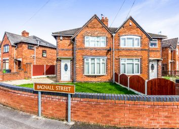 Thumbnail 3 bedroom semi-detached house for sale in Bagnall Street, Leamore, Walsall