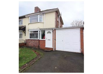 Thumbnail 3 bedroom semi-detached house for sale in Bryan Avenue, Wolverhampton