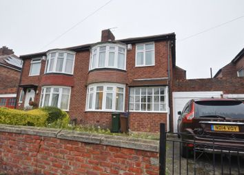Thumbnail 3 bed semi-detached house for sale in Stocksfield Avenue, Fenham, Newcastle Upon Tyne