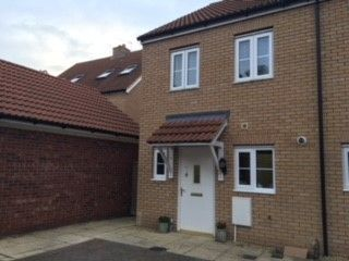 Thumbnail 2 bed semi-detached house for sale in Lawyers Close, Holbeach, Spalding