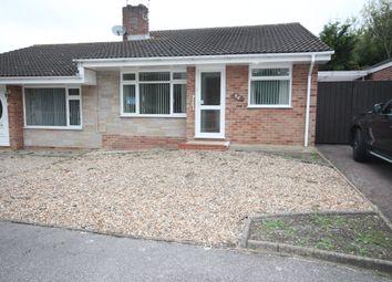 Thumbnail 2 bed semi-detached bungalow to rent in Gainsborough Drive, Lowestoft