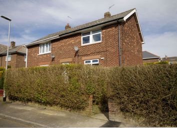 Thumbnail 2 bedroom semi-detached house for sale in Willow Crescent, Leadgate, Consett