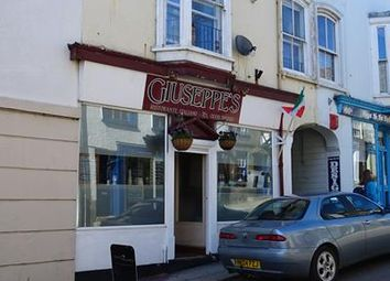 Thumbnail Restaurant/cafe for sale in Giuseppes, 4 Wendron Street, Helston