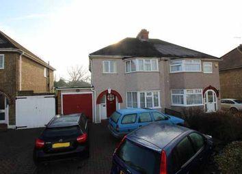 Thumbnail 3 bed semi-detached house for sale in Court Farm Avenue, Epsom, Surrey