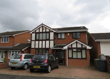 Thumbnail 4 bed detached house for sale in Meadowlands Drive, Shelfield, Walsall