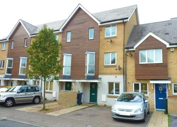 Thumbnail 4 bed town house for sale in Robinson Way, Northfleet