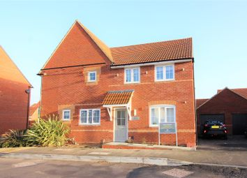 Thumbnail 3 bedroom semi-detached house for sale in Greycing Street, Blunsdon Mead, Swindon