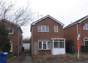 Thumbnail 3 bed detached house to rent in Mayfield Road, Winshill, Burton Upon Trent, Staffordshire